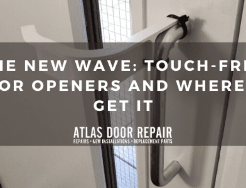 The New Wave: Touch-Free Door Openers and Where to Get it