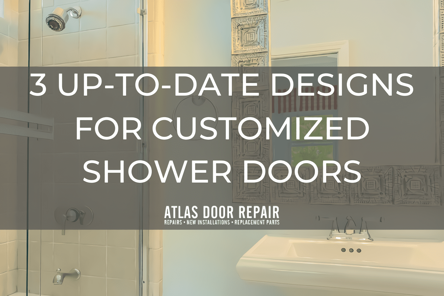 customized shower doors